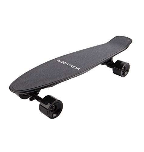Voyager Neutrino Compact Electric Cruiser Skateboard with Bluetooth Remote, 350W...