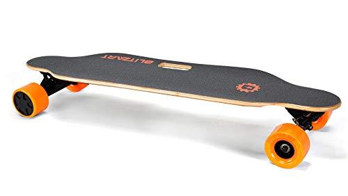 BLITZART Tornado 38' Electric Longboard E-Skateboard Motorized Electronic...