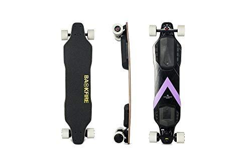 BACKFIRE G2S Electric Longboard & Hub Motor Electric Skateboard- Golden Black...