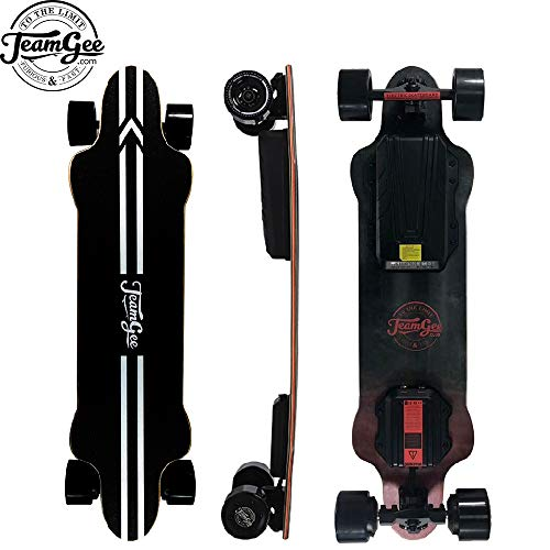 Teamgee H20 39' Electric Skateboard,26 Mph / 42Kph Top Speed,600W Dual Motor,...