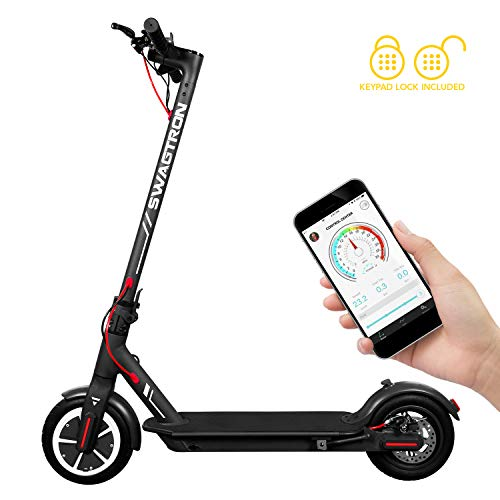 Swagger 5 T High Speed Electric Scooter for Adults with 8.5' Tires, Cruise...