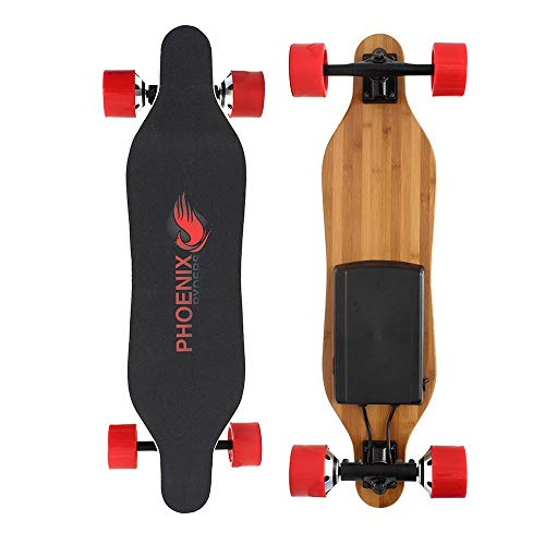 Alouette Phoenix Ryders Electric Skateboard Longboard 4.4AH Lithium Battery,Dual...