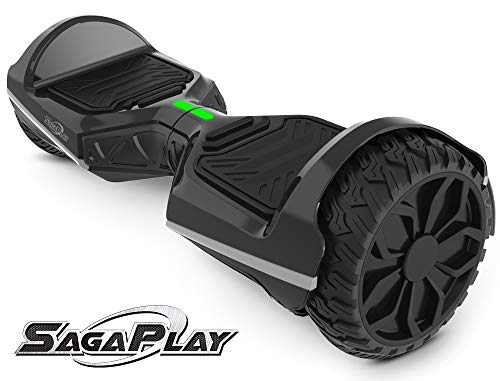 SagaPlay Self Balancing Scooter Hover Self-Balance Board w/Wireless Speakers -...