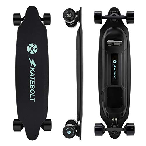 SKATEBOLT Electric Skateboard Longboard with Remote Controller, 25 MPH Top...