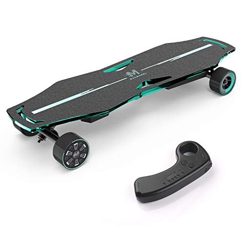 Macwheel MR1 Electric Skateboard, Powerful 600W Dual Hub-Motor, Up to 21MPH,...