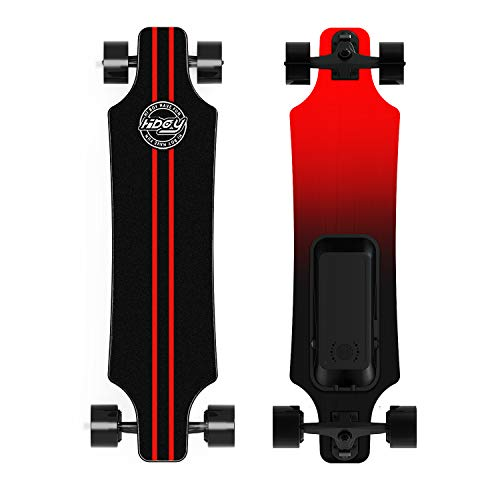 Hiboy S11 Electric Skateboard with Wireless Remote, Longboard Single Hub Motor,...