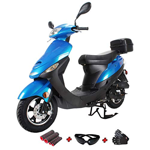 X-Pro 50cc Moped Scooter Gas Moped Scooter 50cc Moped Street Scooter with...