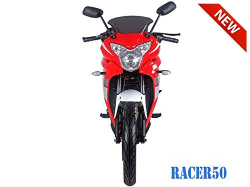 SmartDealsNow 49cc Sports Bike Racer50 Automatic Bike Racer 50 Motorcycle