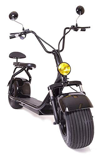 eDrift ES295 2.0 Electric Fat Tire Scooter Moped with Shocks 2000w Hub Motor...