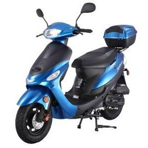 Taotao ATM50A1 50cc Scooter Bleu