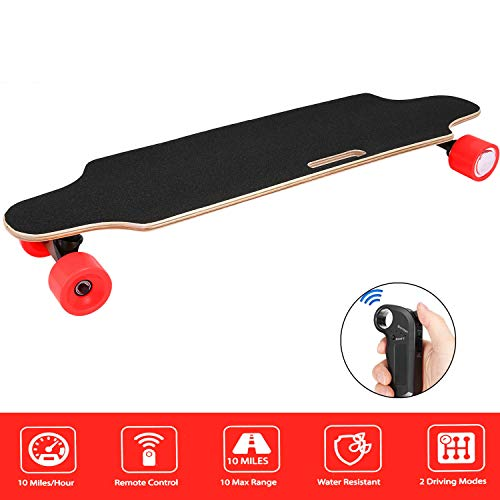 Aceshin Electric Skateboard Longboard with Remote Small for Kids Teens, 250W...