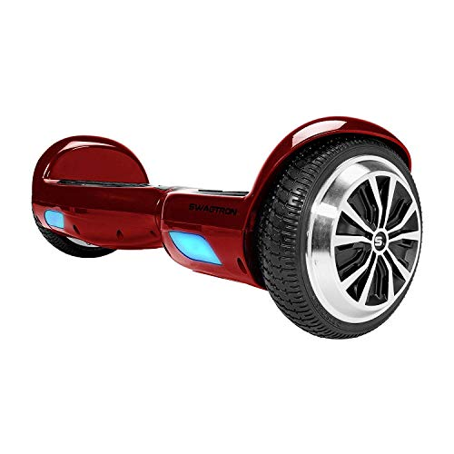 Swagtron Swagboard Twist Lithium-Free UL2272 Certified Hoverboard with Startup...
