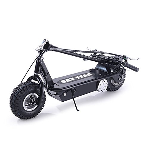 SAY YEAH Foldable Steel Electric Scooter 800W Motor, Black,Non California...