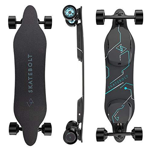 SKATEBOLT Electric Skateboard Breeze II Electric Longboard 28 MPH Top speed, 15...