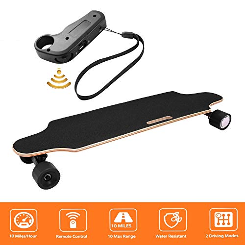 shaofu Electric Skateboard Youth Electric Longboard with Wireless Remote...