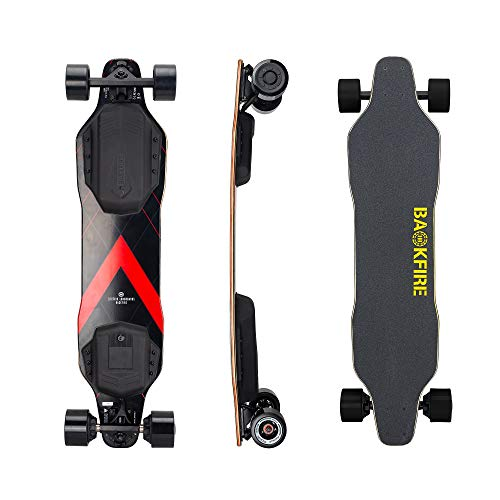BACKFIRE New G2 2019, 23 Mph Top Speed, 6 to 10 Miles Range, 83MM Wheels (Black)