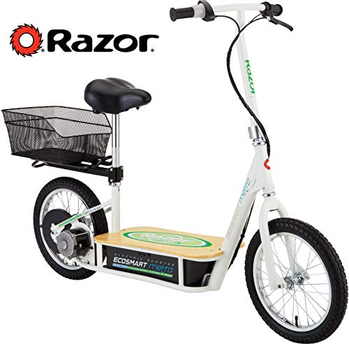 Razor EcoSmart Metro Electric Scooter For Adults - 500W High Torque Motor, Up to...