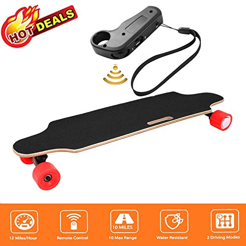 Aceshin 35.4' Electric Skateboard with Remote Control for Adults Teens Youths...