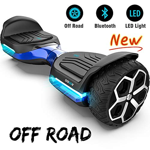 Gyroor T581 Hoverboard 6.5' Off Road All Terrain Hoverboard with Bluetooth...