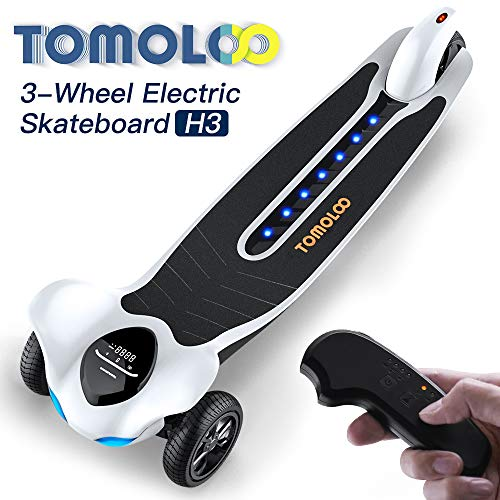 Electric Skateboard with Bluetooth -- TOMOLOO Dragon knight H3  -- Longboard...