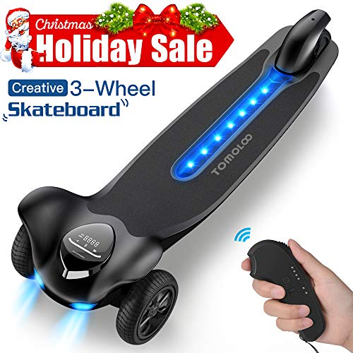 TOMOLOO Hoverboard with LED Lights Two-Wheel Self Balancing Scooter with UL2272...
