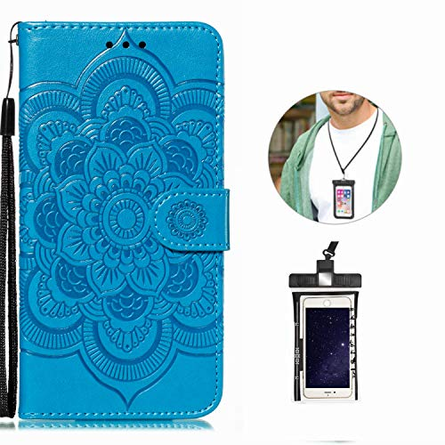 Case for iPhone 11 PRO Luxury Leather Wallet with Viewing Stand and Card Slots...