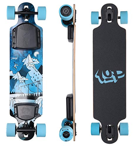 Ride1UP Electric Longboard: Electric Skateboard with Remote for Adults, 7.5AH...