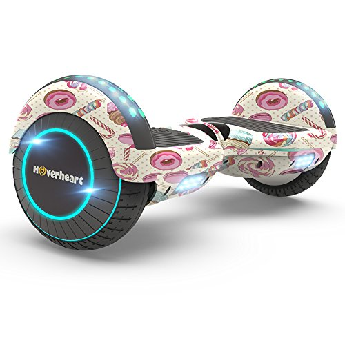 Hoverboard Two-Wheel Self Balancing Electric Scooter UL 2272 Certified, Metallic...