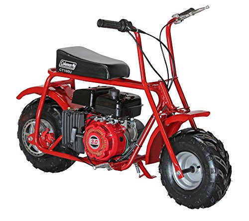 Coleman Powersports 98cc/3.0HP Coleman CT100U Gas Powered Mini Trail Bike