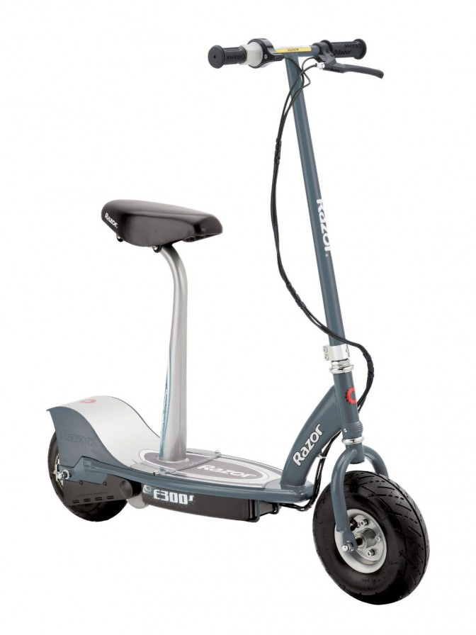 Electric Scooter With Seat? We reviewed that.