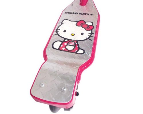 hello kitty electric scooter review scooter scouter. Black Bedroom Furniture Sets. Home Design Ideas