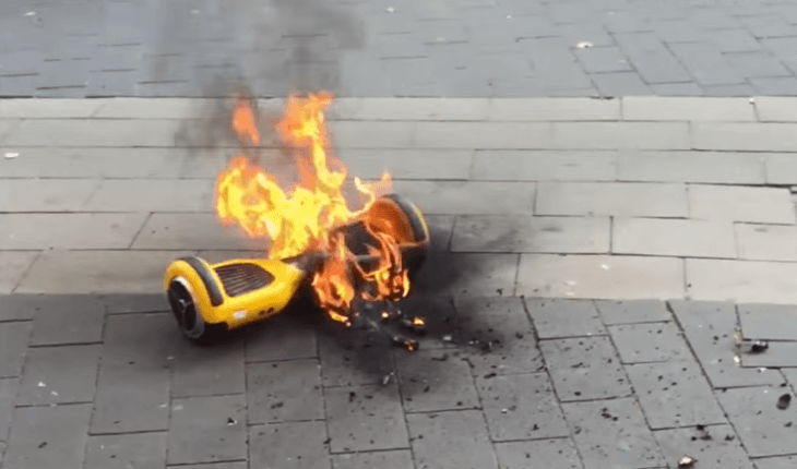 why do hoverboards explode